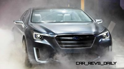 2015 Subaru Legacy Concept Directly Previews Next LGT3
