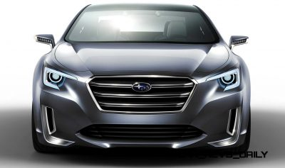 2015 Subaru Legacy Concept Directly Previews Next LGT4