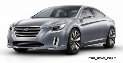2015 Subaru Legacy Concept Directly Previews Next LGT5