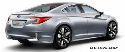 2015 Subaru Legacy Concept Directly Previews Next LGT6