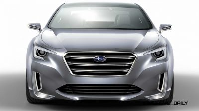 2015 Subaru Legacy Concept Directly Previews Next LGT8