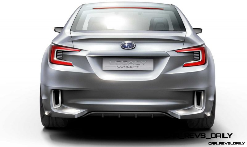 2015 Subaru Legacy Concept Directly Previews Next LGT9