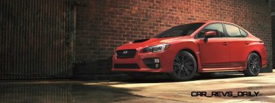 2015 Subaru WRX Nears 270 Horsepower, Looks Hot10