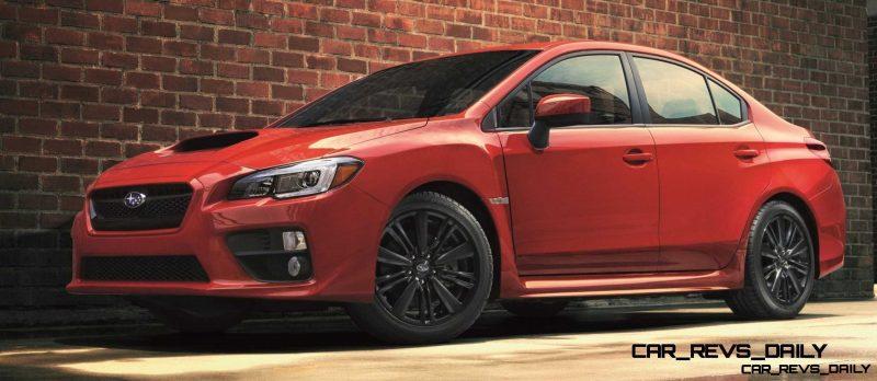 2015 Subaru WRX Nears 270 Horsepower, Looks Hot11