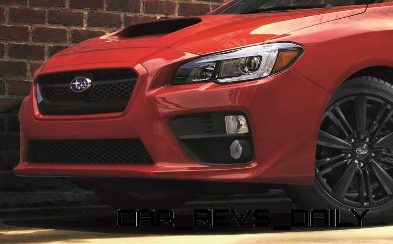 2015 Subaru WRX Nears 270 Horsepower, Looks Hot12