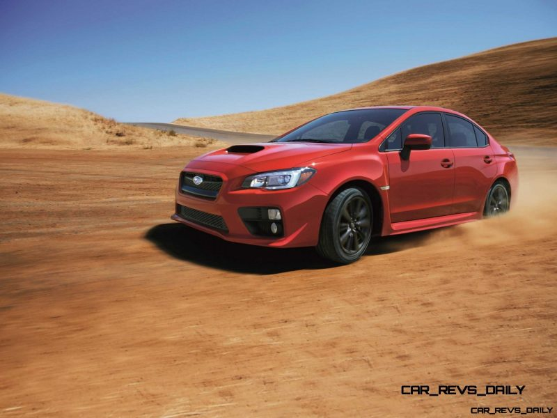 2015 Subaru WRX Nears 270 Horsepower, Looks Hot15