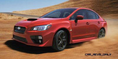 2015 Subaru WRX Nears 270 Horsepower, Looks Hot16