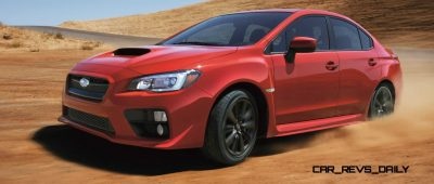 2015 Subaru WRX Nears 270 Horsepower, Looks Hot17