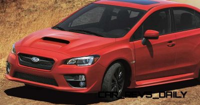 2015 Subaru WRX Nears 270 Horsepower, Looks Hot2