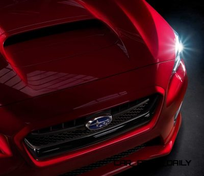 2015 Subaru WRX Nears 270 Horsepower, Looks Hot24
