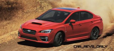 2015 Subaru WRX Nears 270 Horsepower, Looks Hot3