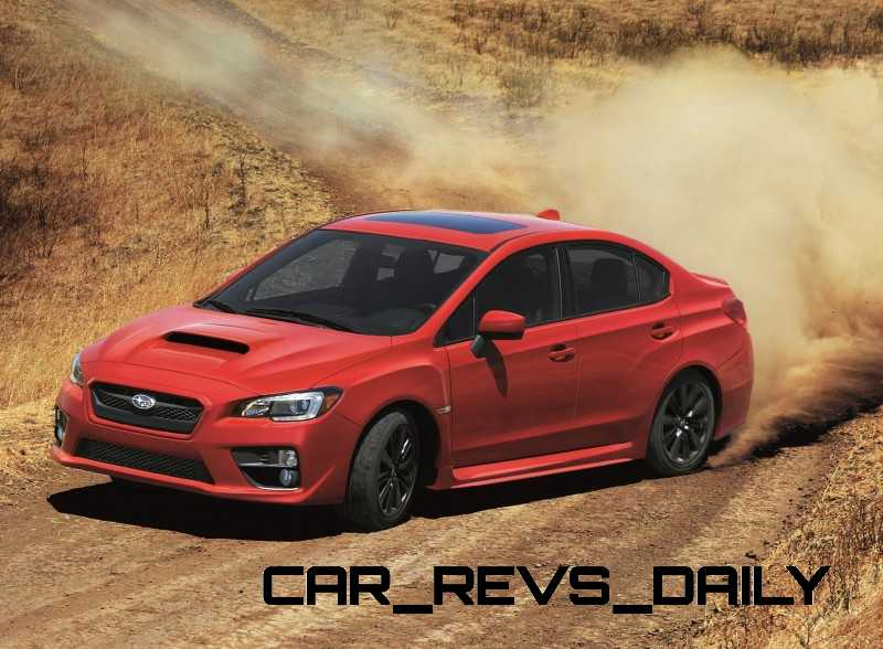 2015 Subaru WRX Nears 270 Horsepower, Looks Hot4