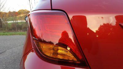 Toyota Yaris tailight