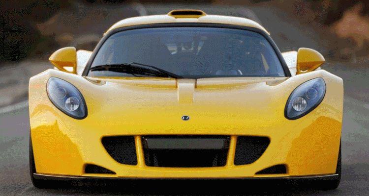 265MPH Hennessey Venom GT - Animated GIF header