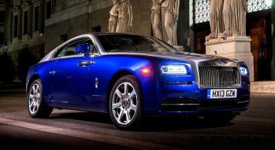 Rolls-Royce Wraith launch, Austria, September 2013