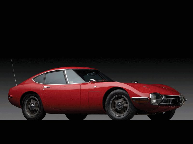 Animated GIF - 1967 Toyota 2000GT RM Auctions 11.21.13