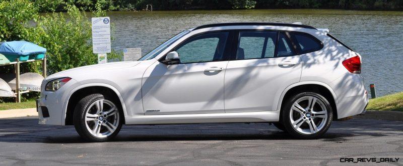 BMW X1 sDrive28i M Sport - Alpine White in 60 High-Res Photos28