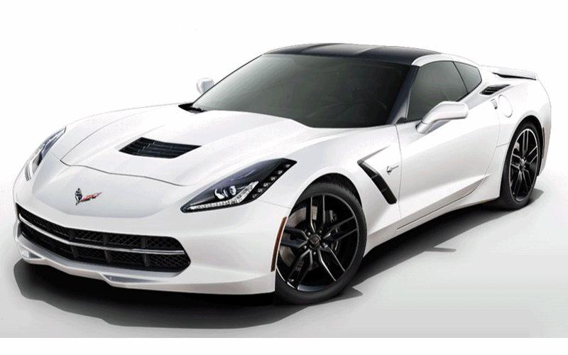 CarRevsDaily - 2014 Corvette Stingray Colors Animation999999 GIF