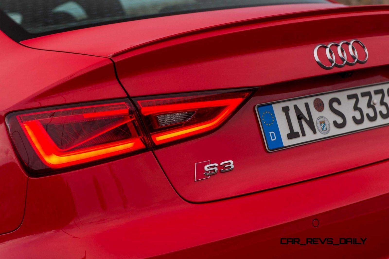 CarRevsDaily - 2015 Audi S3 Exterior 31