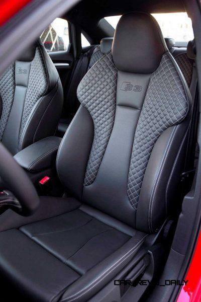 CarRevsDaily - 2015 Audi S3 Interior 10