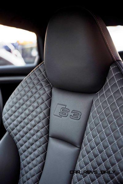 CarRevsDaily - 2015 Audi S3 Interior 11