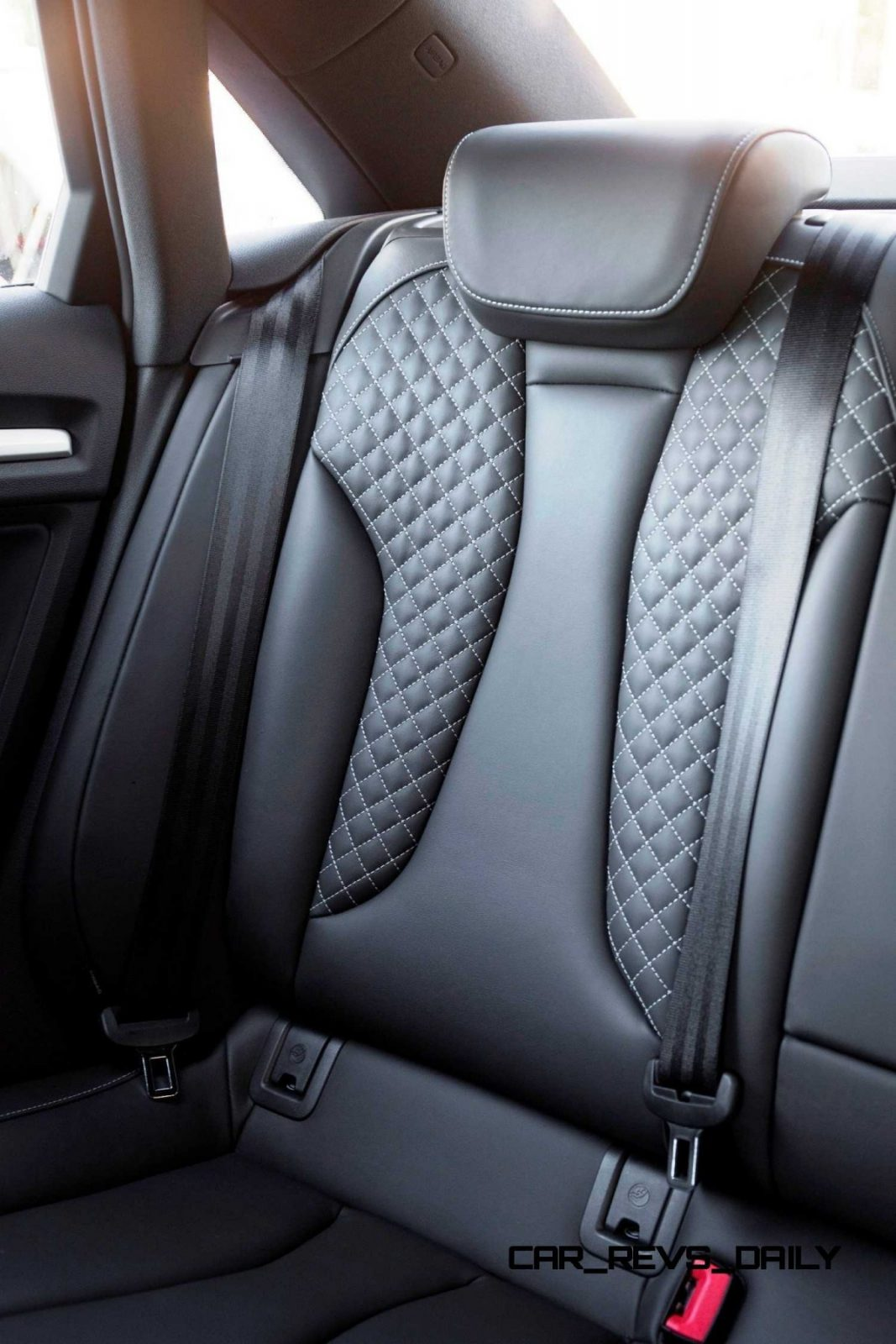 CarRevsDaily - 2015 Audi S3 Interior 12