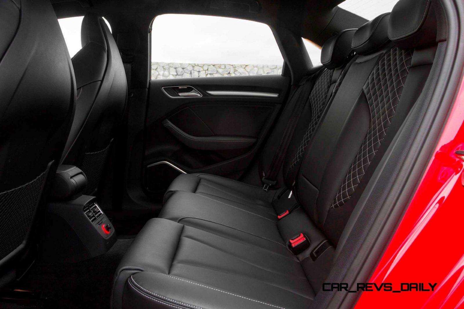 CarRevsDaily - 2015 Audi S3 Interior 7