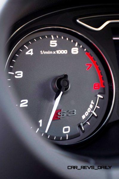 CarRevsDaily - 2015 Audi S3 Interior 8
