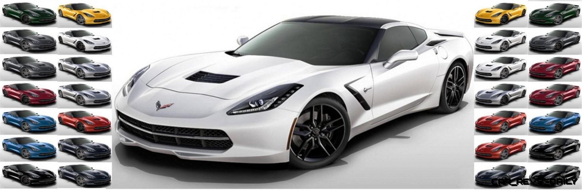 CarRevsDaily Corvette Stingray Colors Header