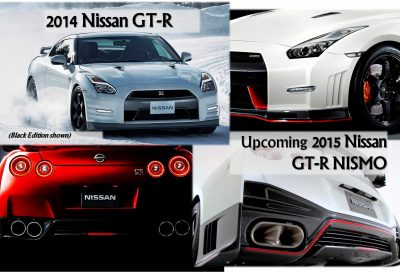 2014 GT-R + 2015 GT-R NISMO Now Far More Beautiful ...