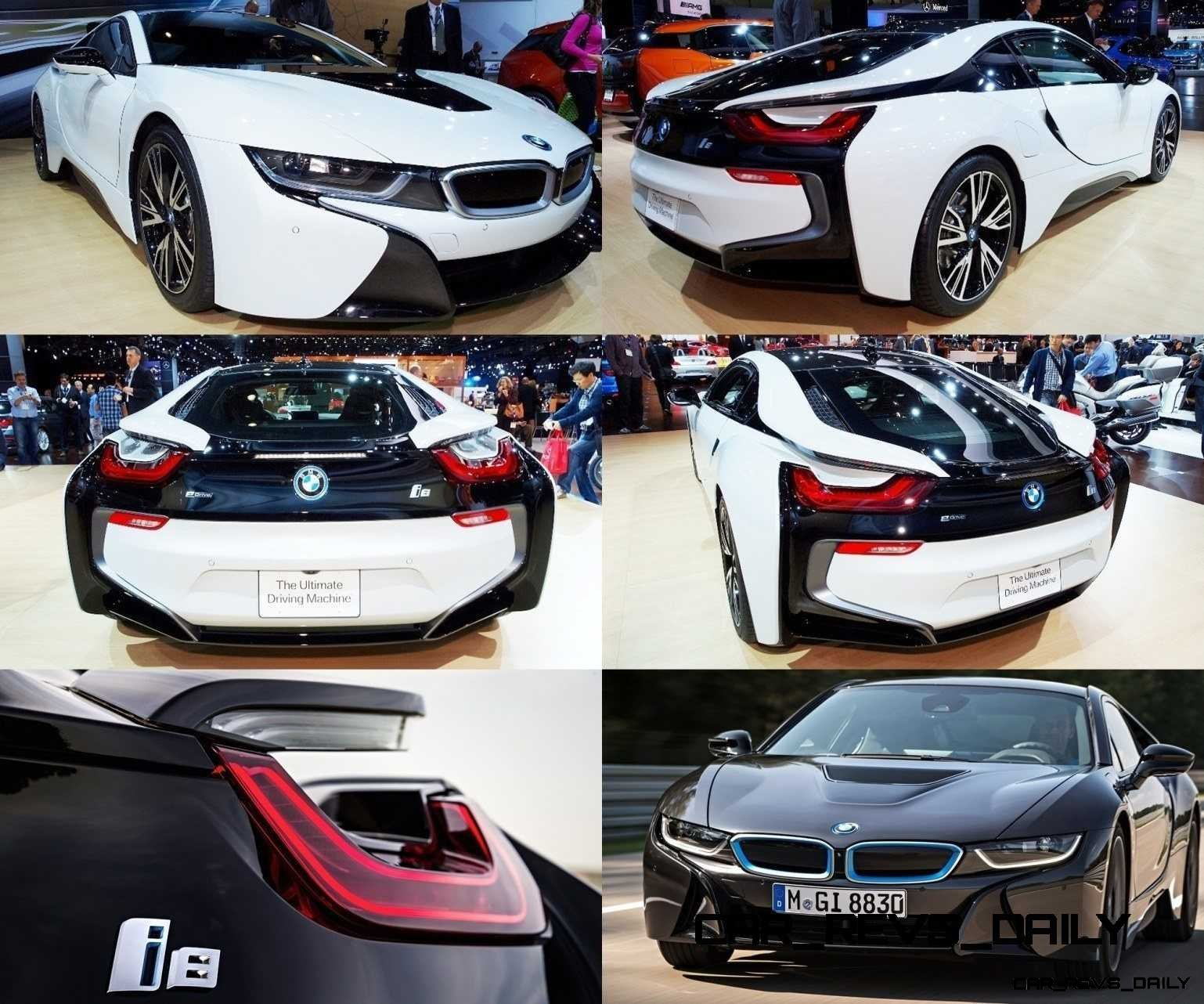 CarRevsDaily - BMW i8 Tiled Collage