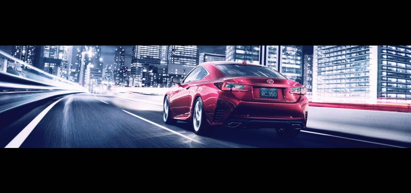 CarRevsDaily Lexus RC350 ANIMATION