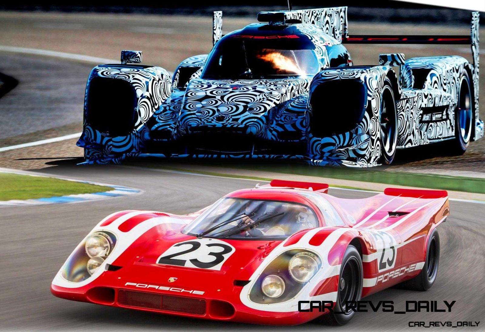 CarRevsDaily - Porsche 917 and 2014 LMP1