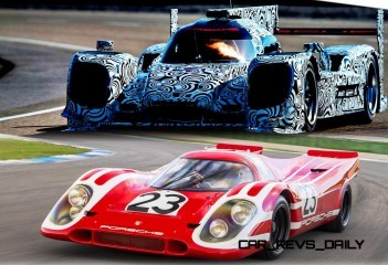 CarRevsDaily - Porsche 917 and 2014 LMP1