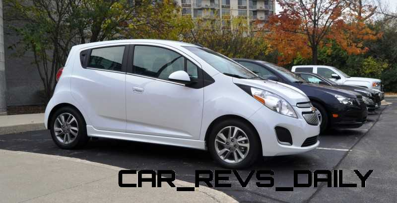 CarRevsDaily.com - 2014 Chevrolet Spark EV First Photos1