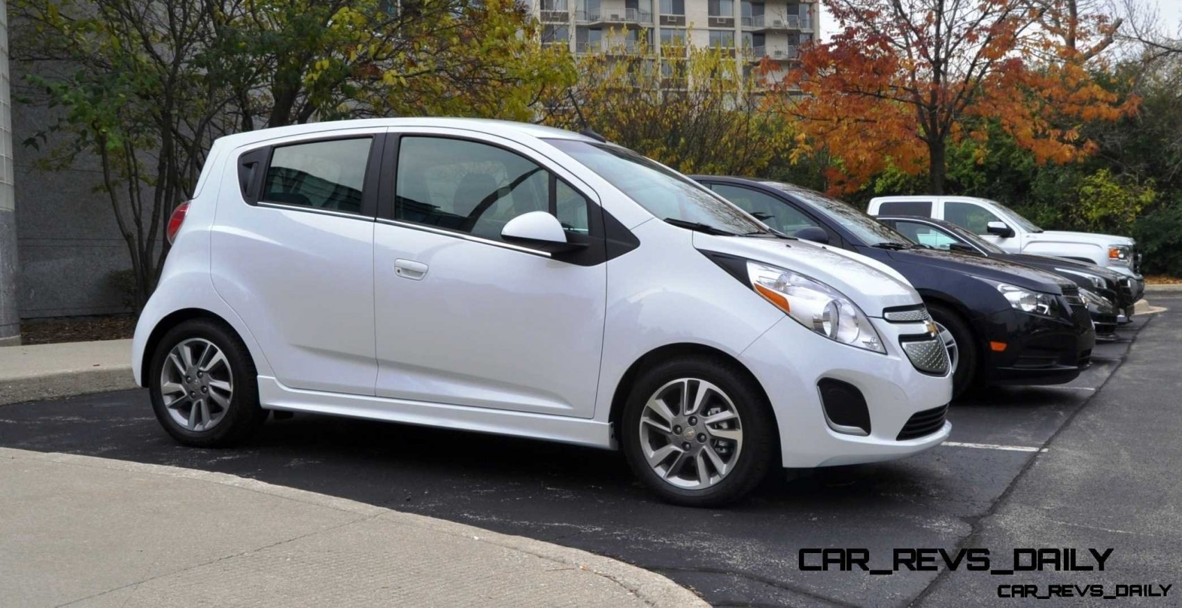 2014 Chevrolet Spark EV First Glimpse Photos Inside and Out Looks Cute