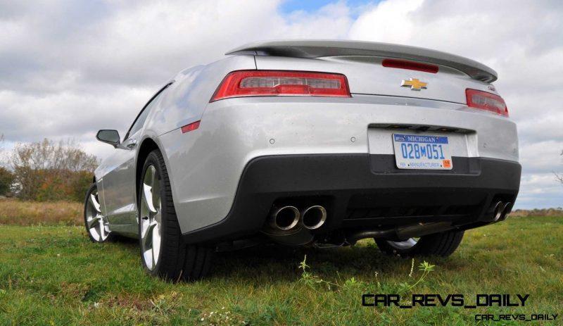 CarRevsDaily.com - 2014 Chevy Camaro 2LT RS 11