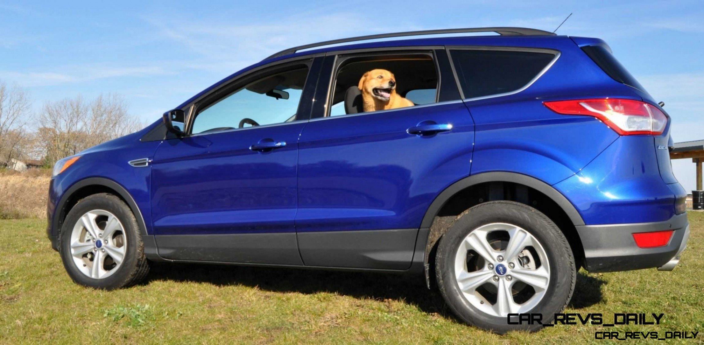 2014 Ford Escape 1.6L EcoBoost in Deep Impact Blue - 69 ...