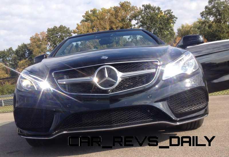 CarRevsDaily.com - 2014 Mercedes-Benz E550 Cabriolet4