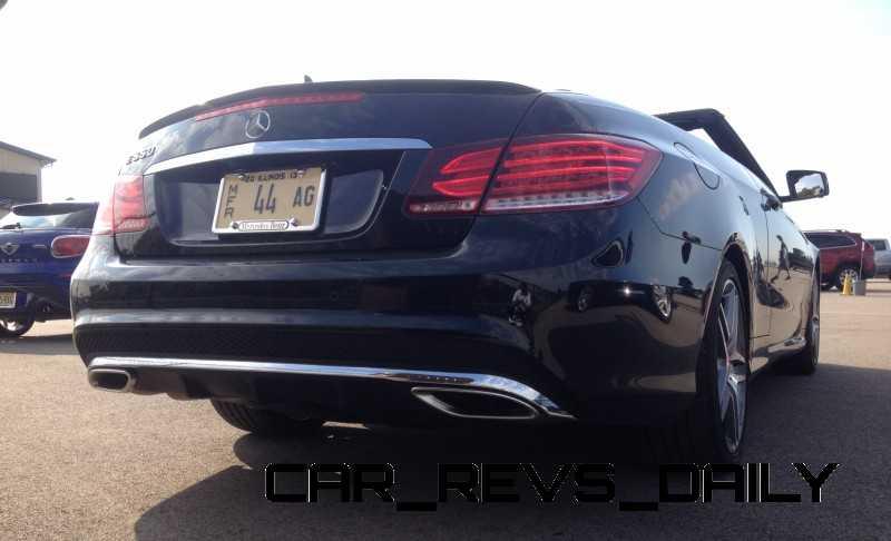 CarRevsDaily.com - 2014 Mercedes-Benz E550 Cabriolet8