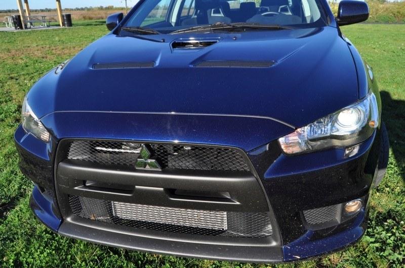 CarRevsDaily.com - 2014 Mitsubishi Lancer Evolution GSR13