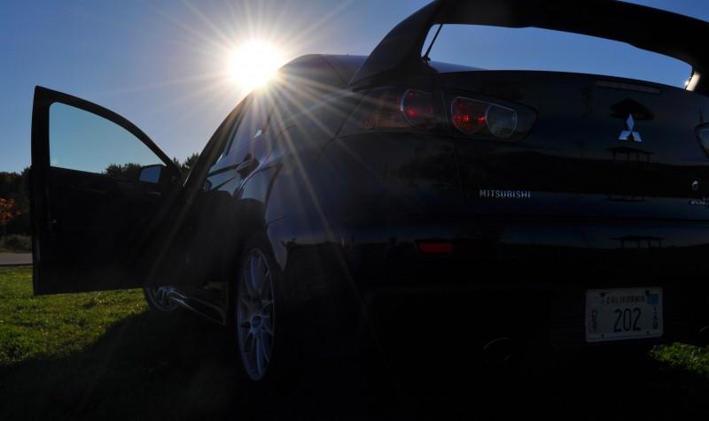 CarRevsDaily.com - 2014 Mitsubishi Lancer Evolution GSR15