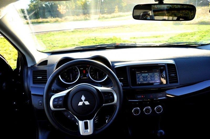 CarRevsDaily.com - 2014 Mitsubishi Lancer Evolution GSR29