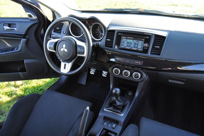 CarRevsDaily.com - 2014 Mitsubishi Lancer Evolution GSR36
