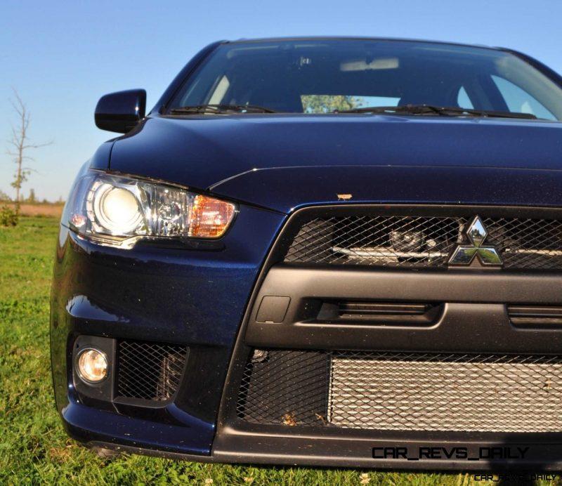 CarRevsDaily.com - 2014 Mitsubishi Lancer Evolution GSR6