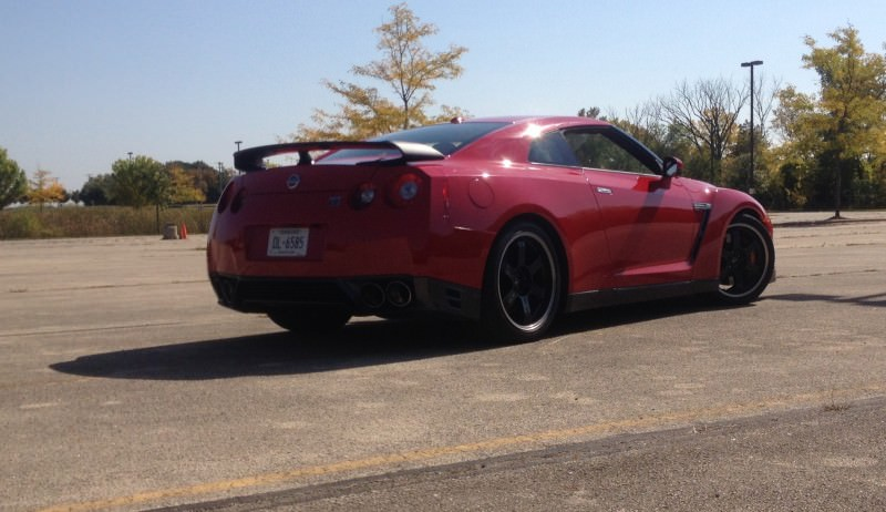 CarRevsDaily.com - First-Drive Photos - 2014 Nissan GT-R Black Edition45