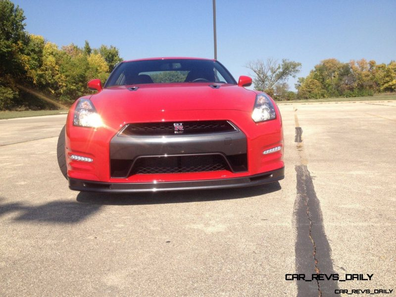 CarRevsDaily.com - First-Drive Photos - 2014 Nissan GT-R Black Edition73