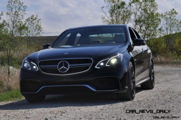 Hammer Down! Full Throttle Sprint Video in 2014 E63 AMG 4MATIC