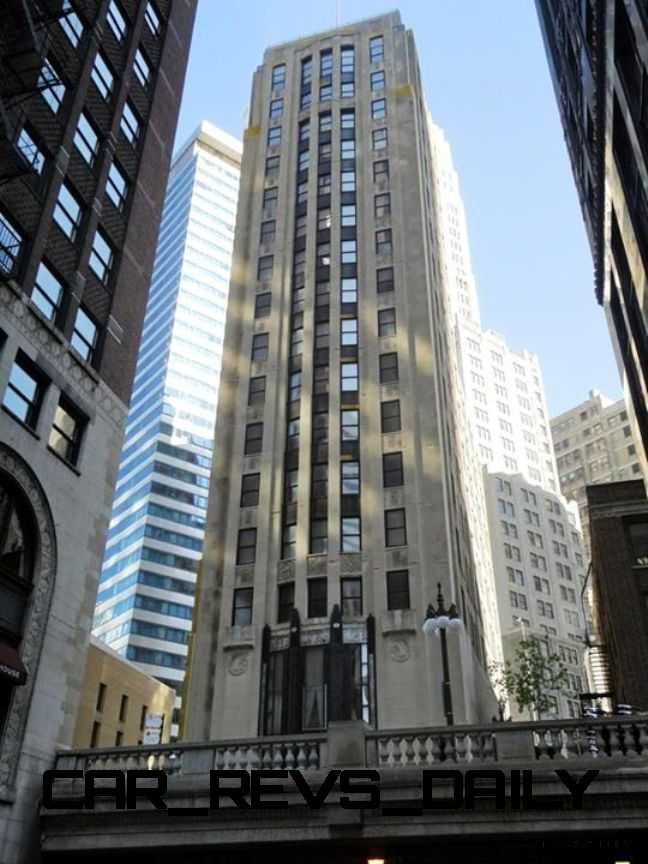 Subaru Rally Car >> Auto Landmark: Chicago Motor Club - Vacant Art Deco Highrise