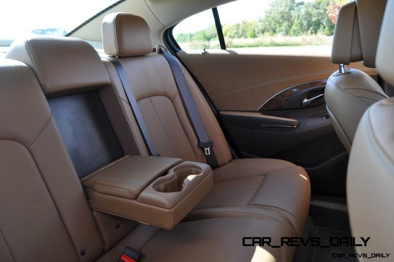 2014 Buick LaCrosse rear armrest